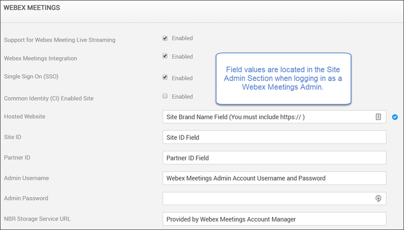 How to Enable WebEx in Rev