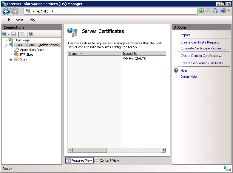 Configuring for SSL