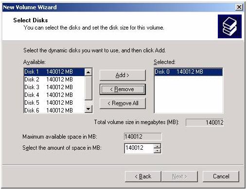 Adding Storage to 1850/2850 Servers